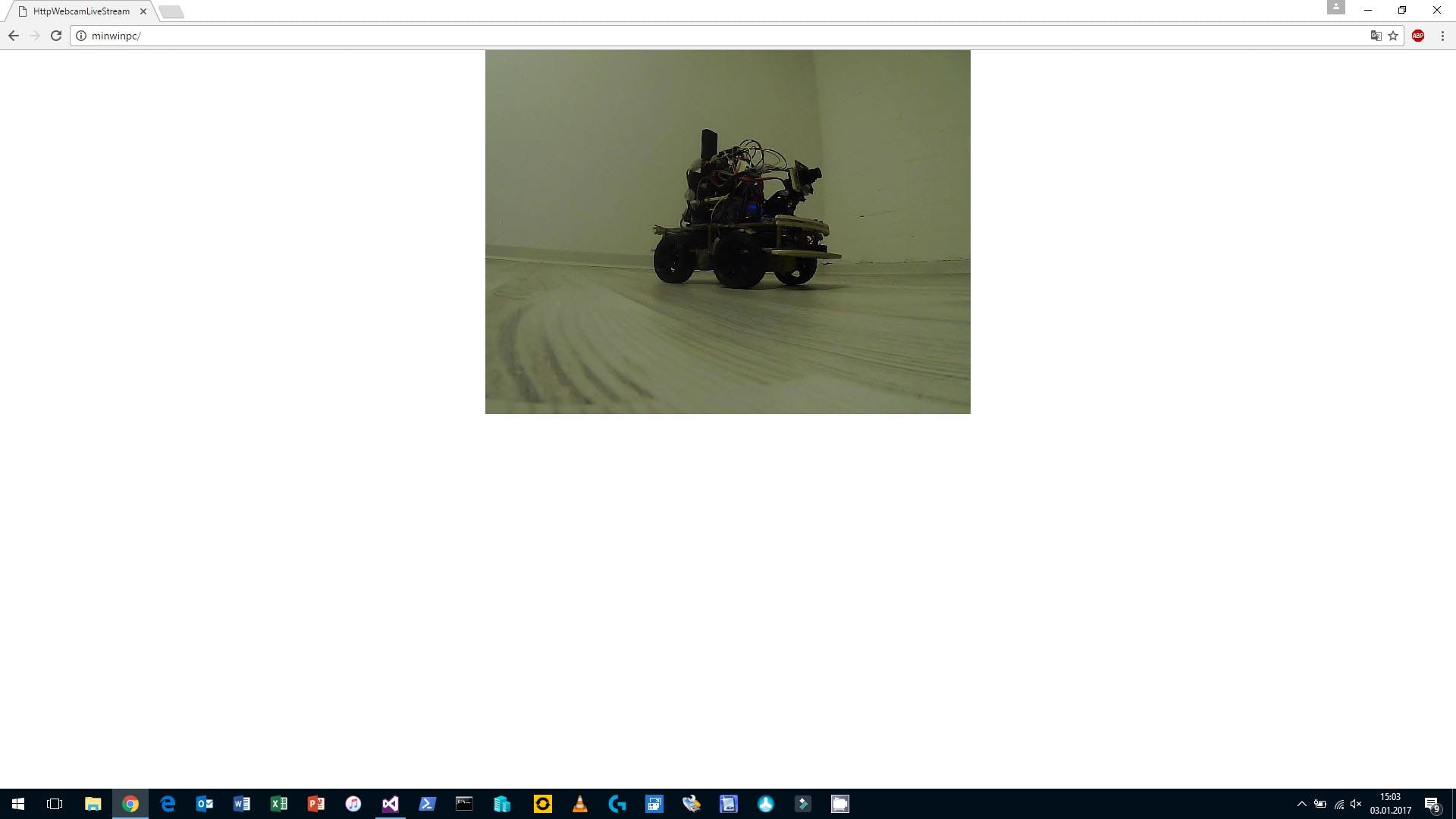 Webcam video with resolution (640x480 pixel)