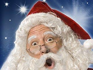 Texting Christmas Santa Catcher