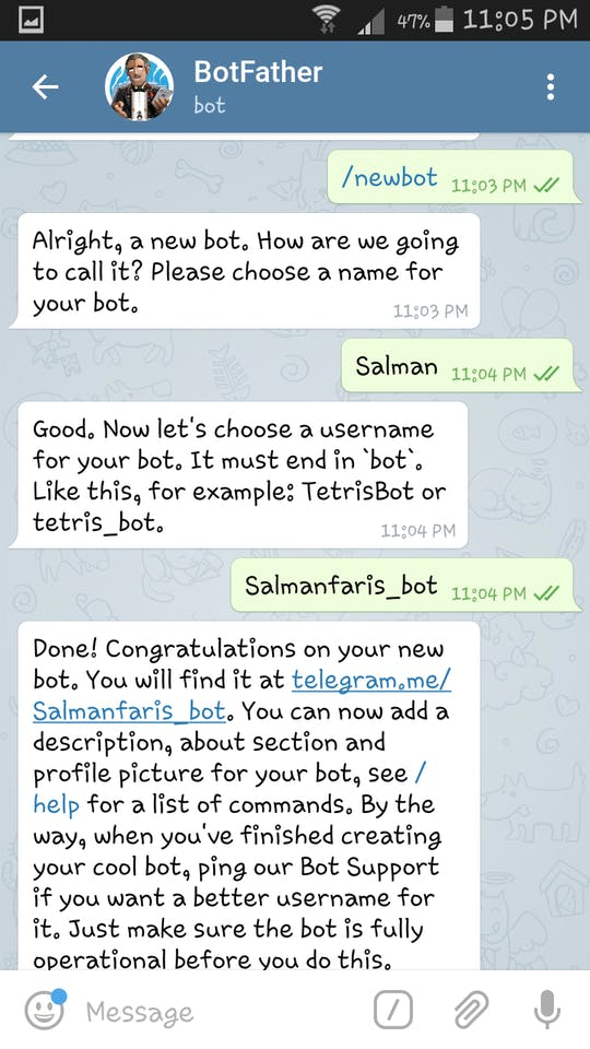 Telegram Bot With Raspberry Pi - Hackster io