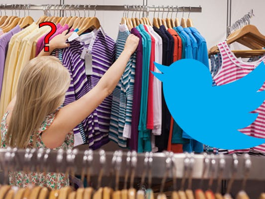 What to Wear? Twitter Button