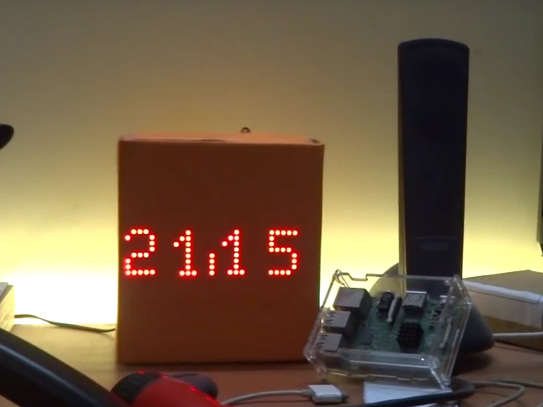 Minimalist Arduino Clock