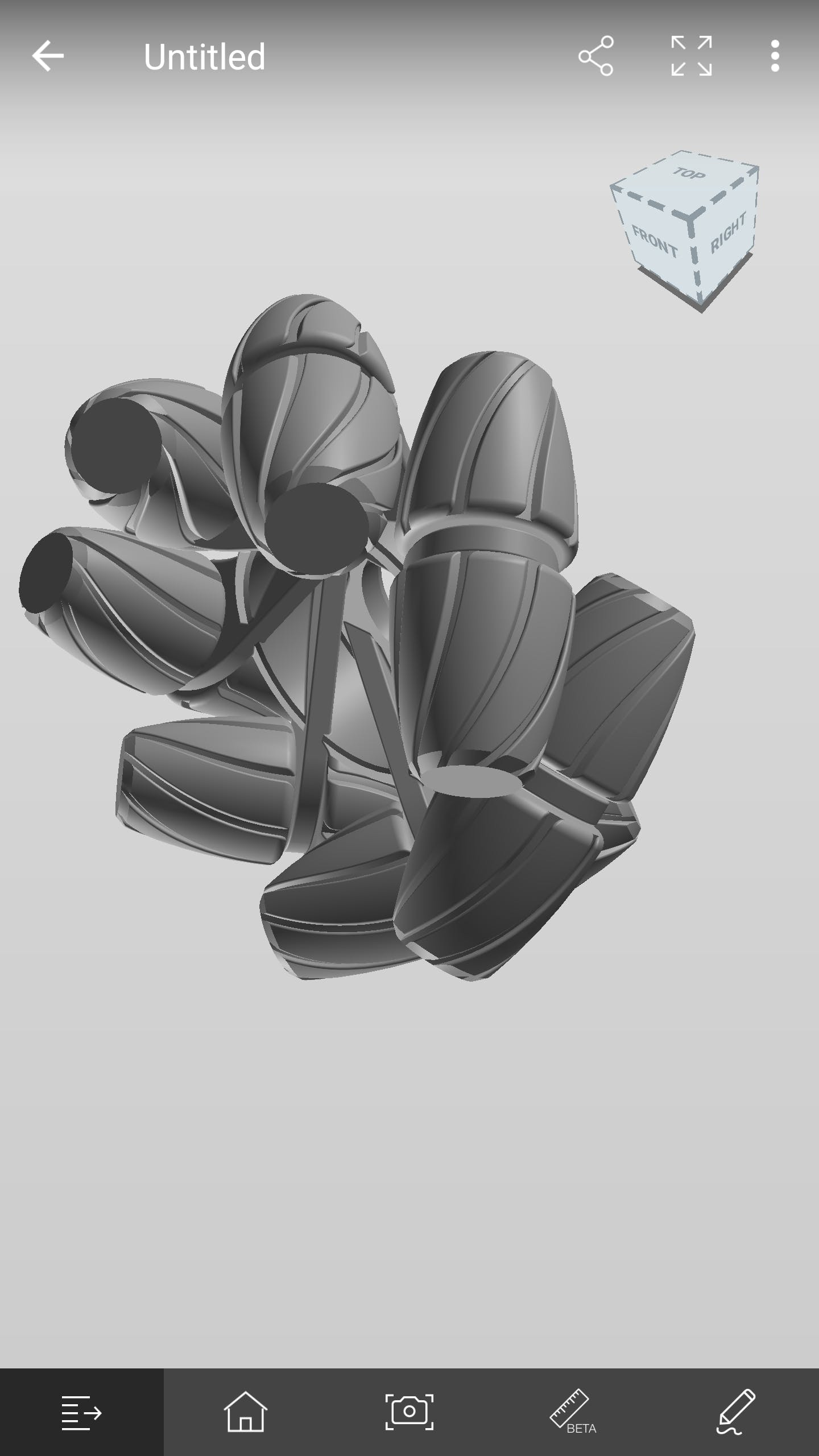 Initial Mecanum rendering