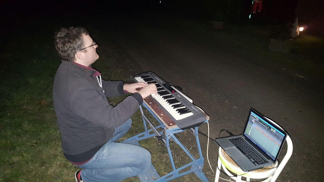 Testing with MIDI keyboard