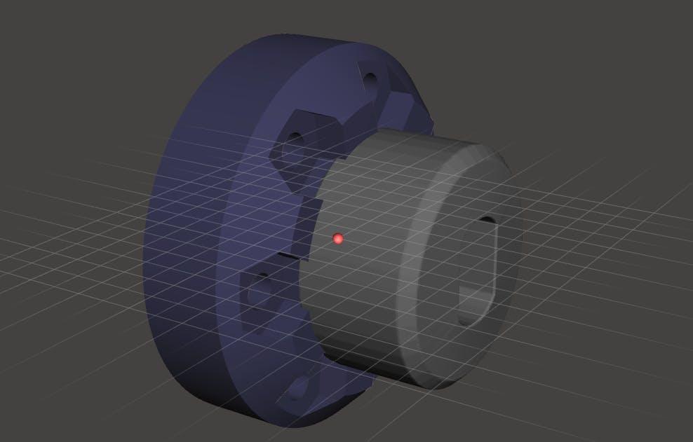 Modified VEX hub adapter