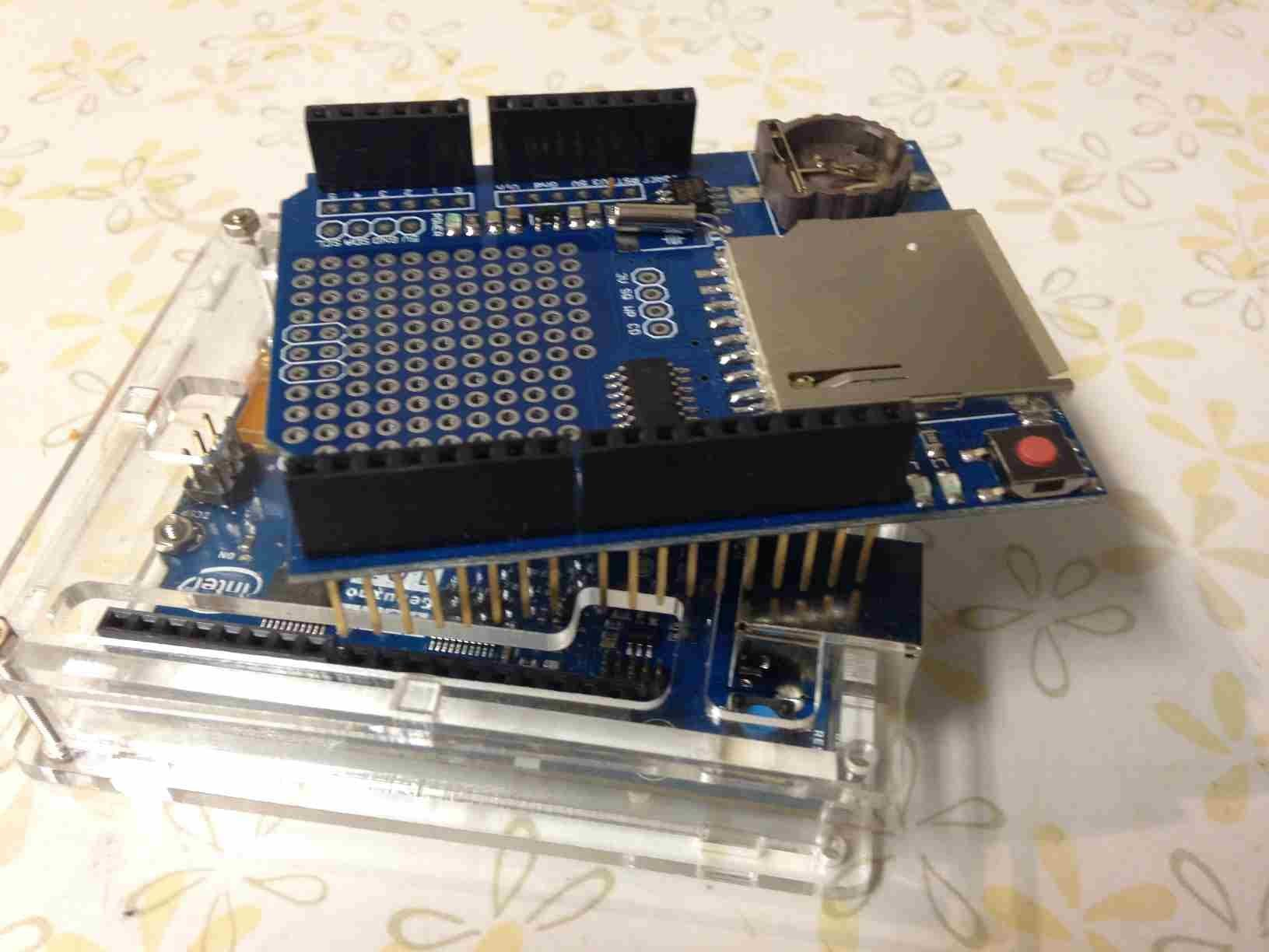 The Intel Arduino 101 Hardware Neural Network with MNIST