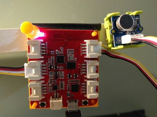 LED Sound Meter using Wio-Link and Node-Red