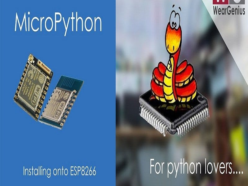 Flash MicroPython Firmware to ESP8266