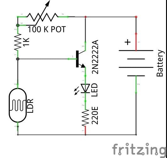 Automatic Night Lamp with LDR - Hackster.io