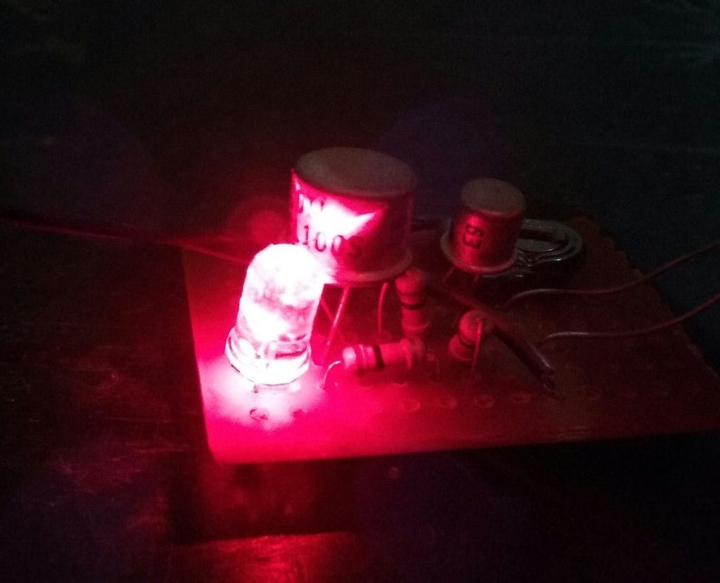 Modified Automatic Night Light Picture Of Switching Street Lights By Using Ldr And Relay