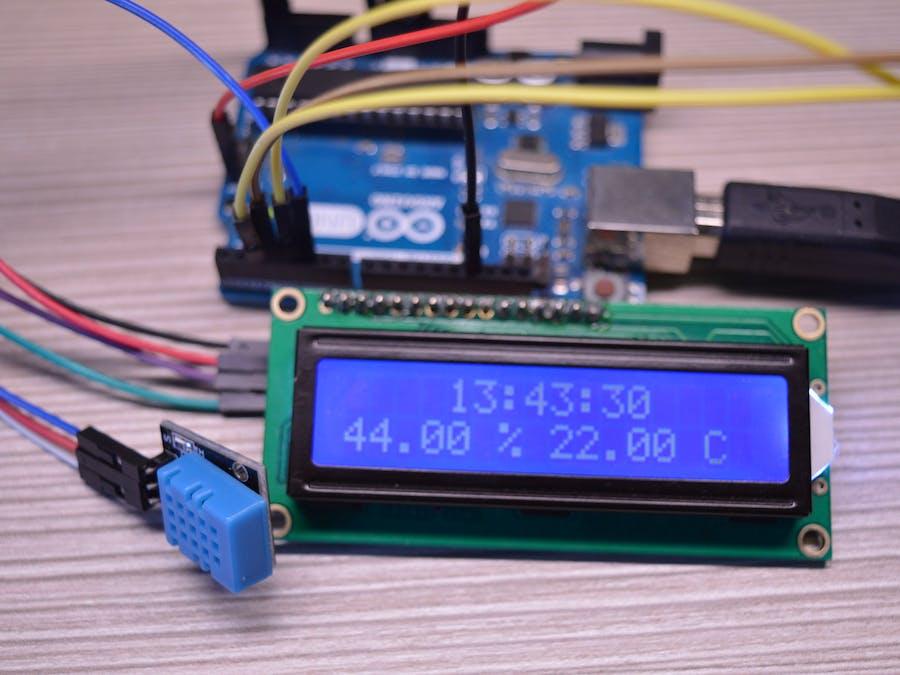 Arduino weather station hackster