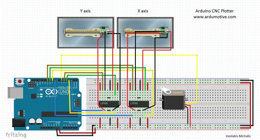 sketch it cnc plotter hackster io rh hackster io Battery Circuit Diagram Electronic Circuit Diagrams
