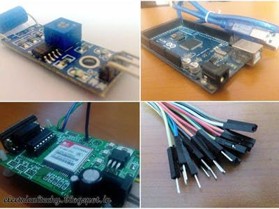 Security System | SW-420 | Arduino | GSM
