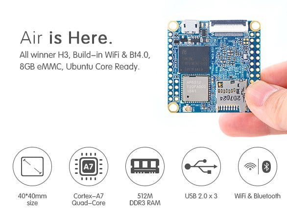 Introduction to NanoPi NEO Air