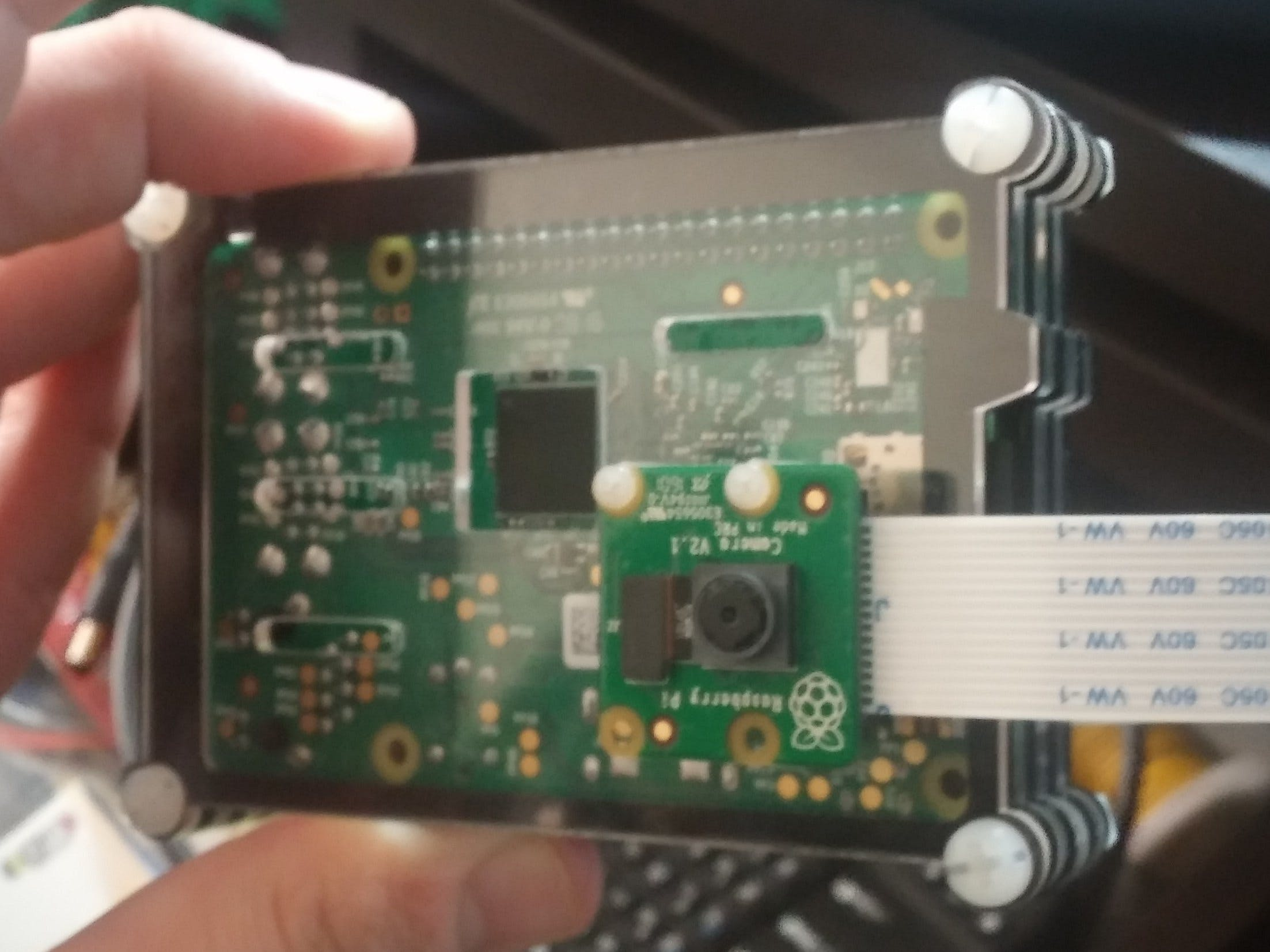 Raspberry Pi Smart Camera