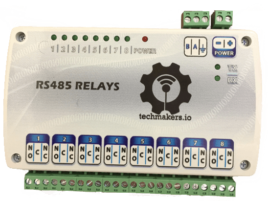 How to Command a RS485 Relays