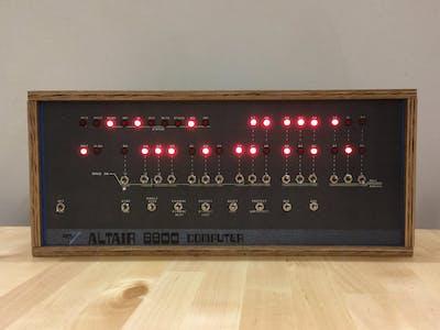Arduino Altair 8800 Simulator