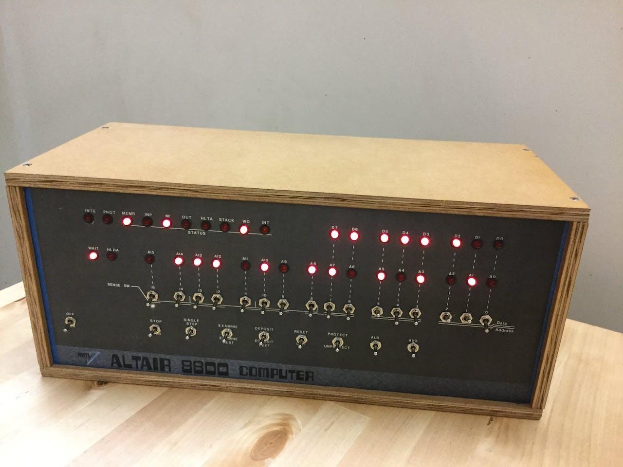 Arduino Altair 8800 Simulator - Arduino Project Hub
