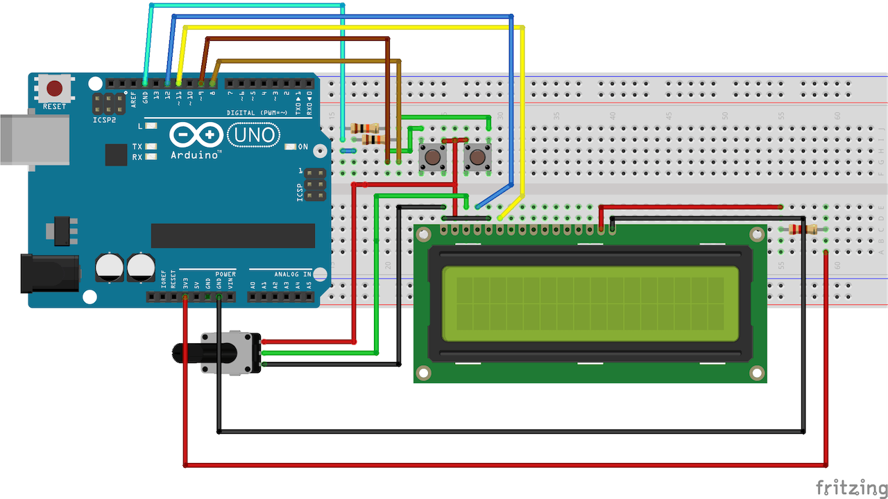 Simple Arduino Digital Clock Without Rtc Circuitdiagram Basiccircuit Usbturningserialcircuitdiagramhtml