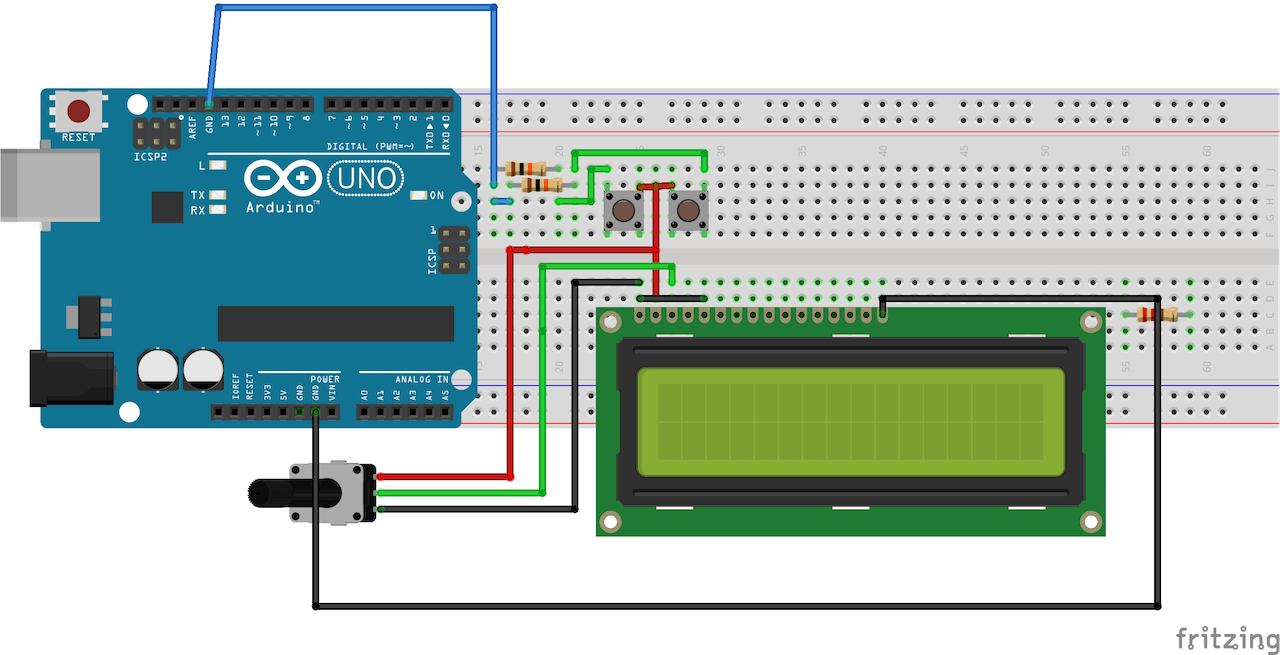 Simple Arduino Digital Clock Without Rtc Components Shown Below To Build A Flashing Light Circuit Complete The