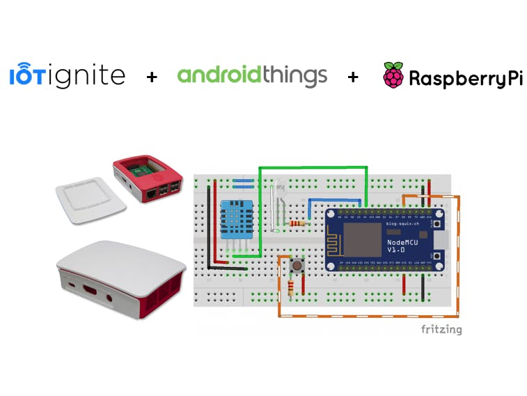 Getting Temp, Humidity Information with Android Things