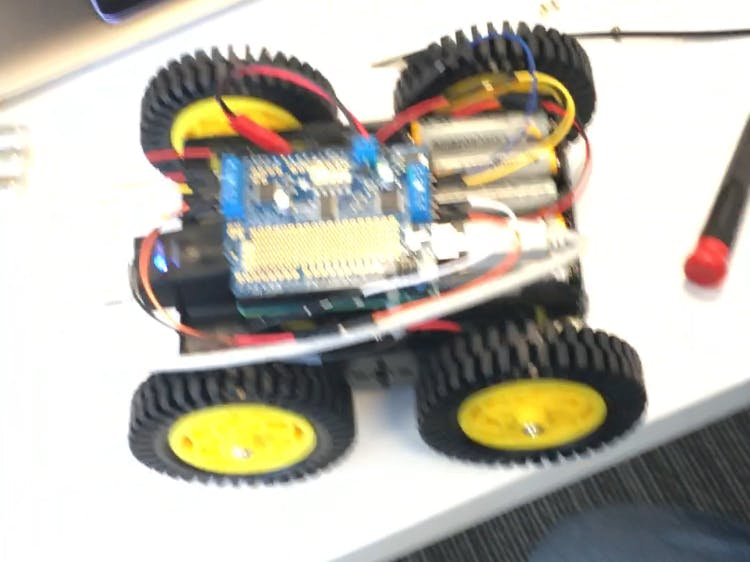 Rover on Arduino