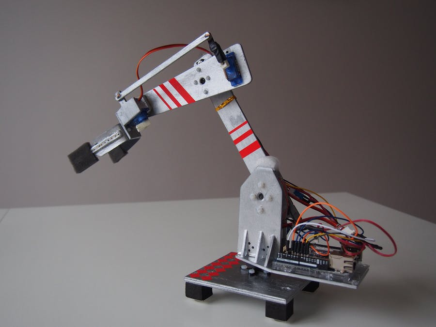 Arduino IoT Robotic Arm - Arduino Project Hub