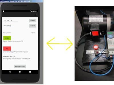 Android App To Control Allen-Bradley CompactLogix PLC