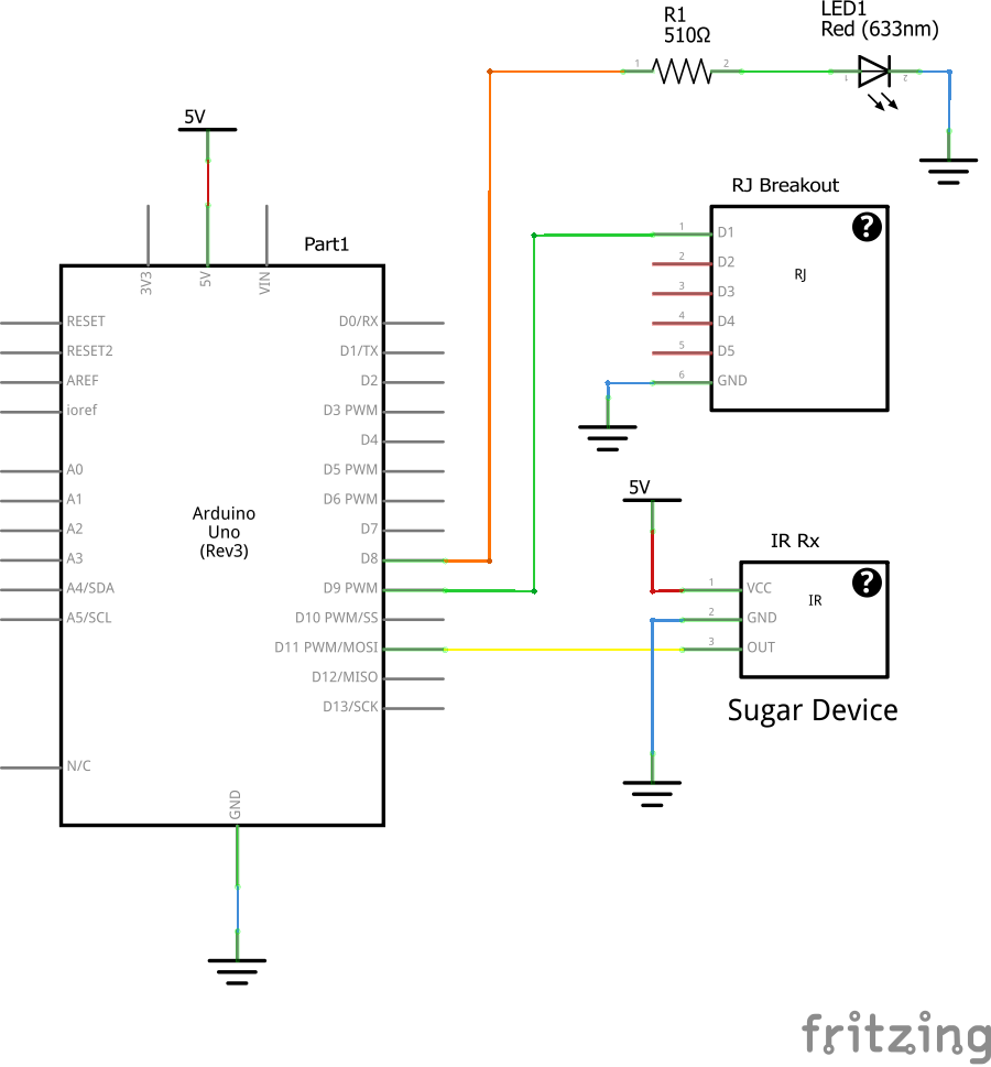 ir remote control and arduino control ac voltage device arduino VFD Control Wiring Diagram infrared controls wiring diagram