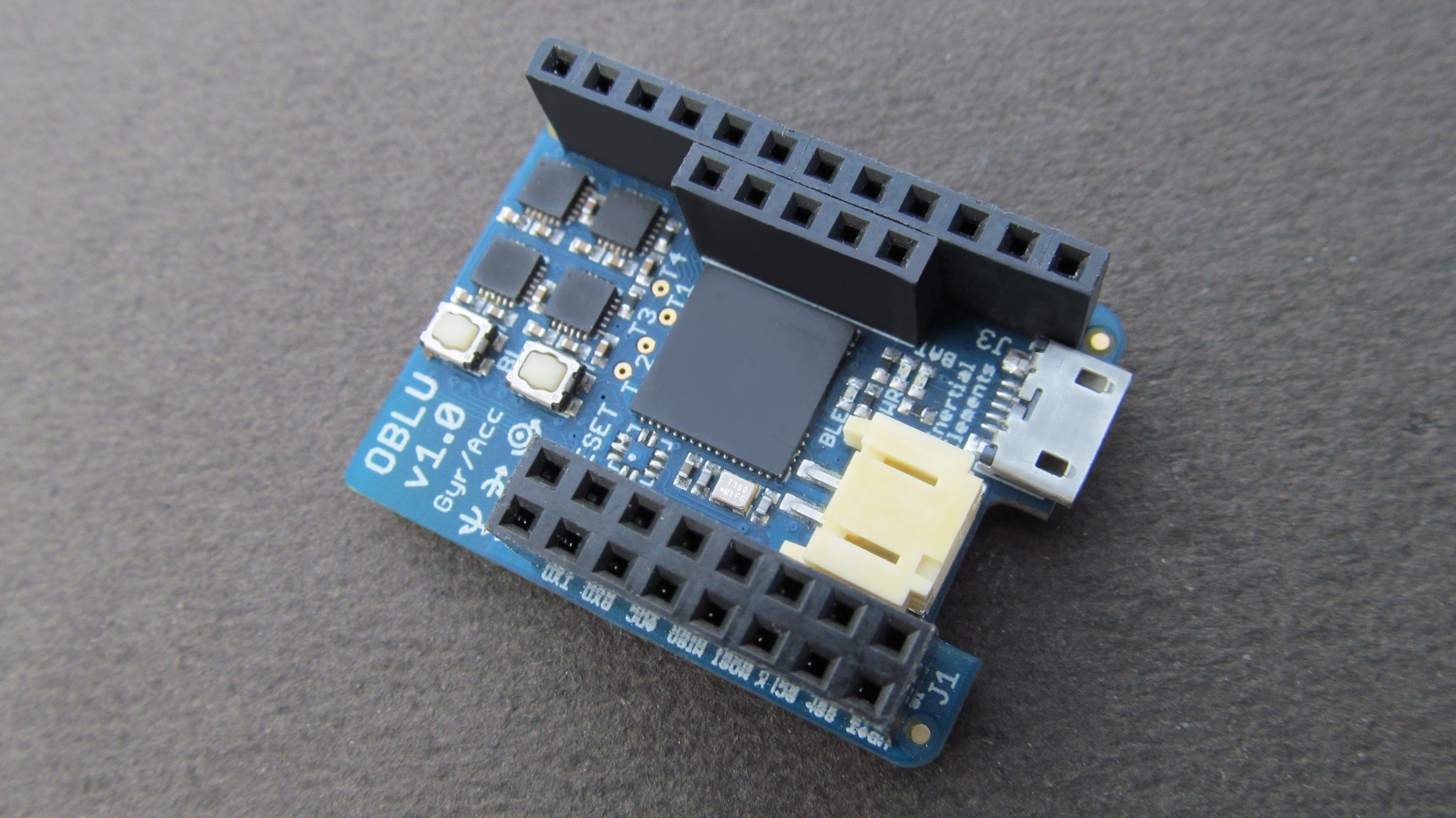 oblu - an opensource inertial sensing platform