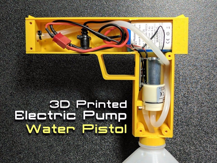 Electric Pump Water Pistol