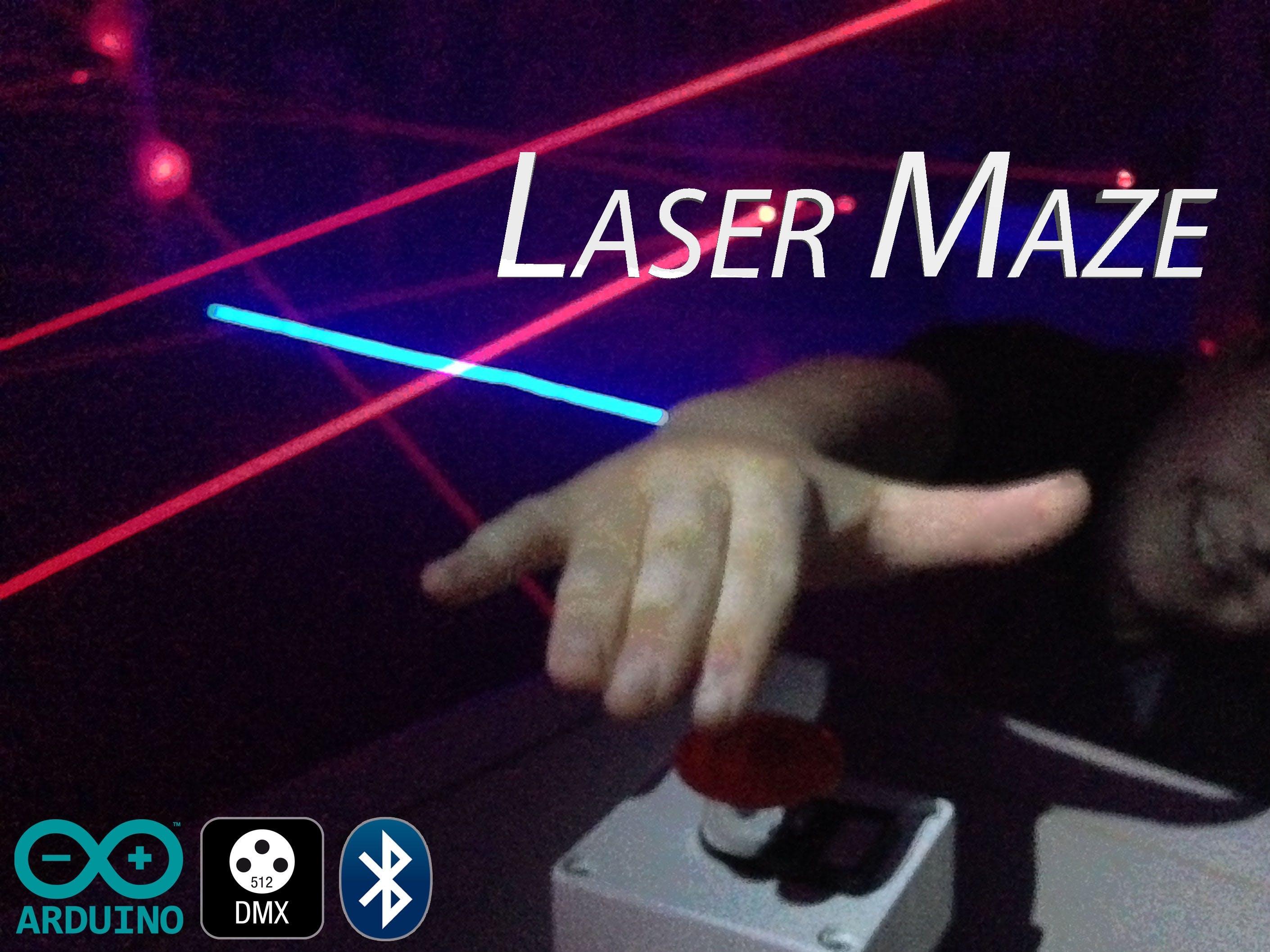 Halloween Laser Maze