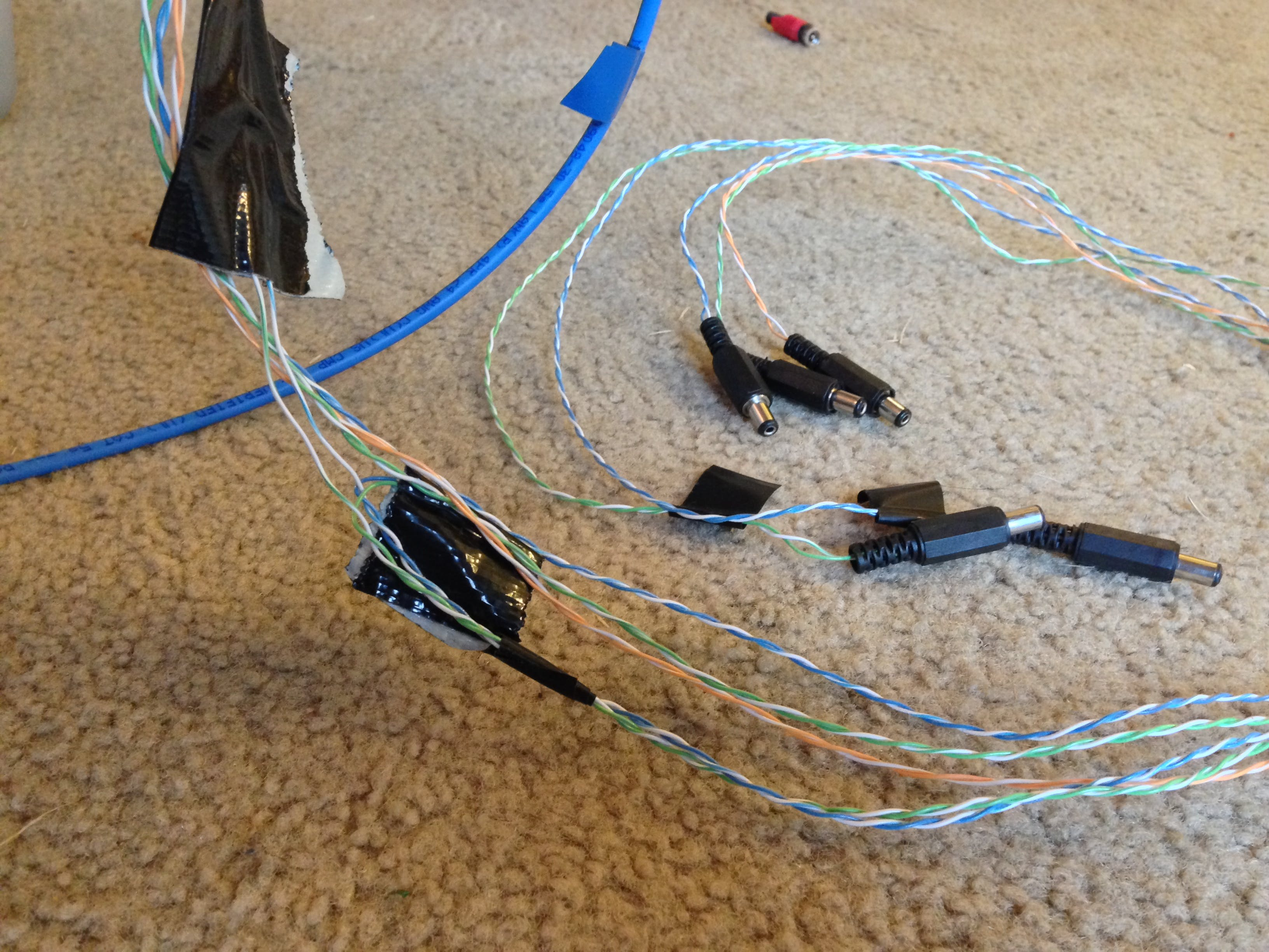 cat5 cable for blue tower