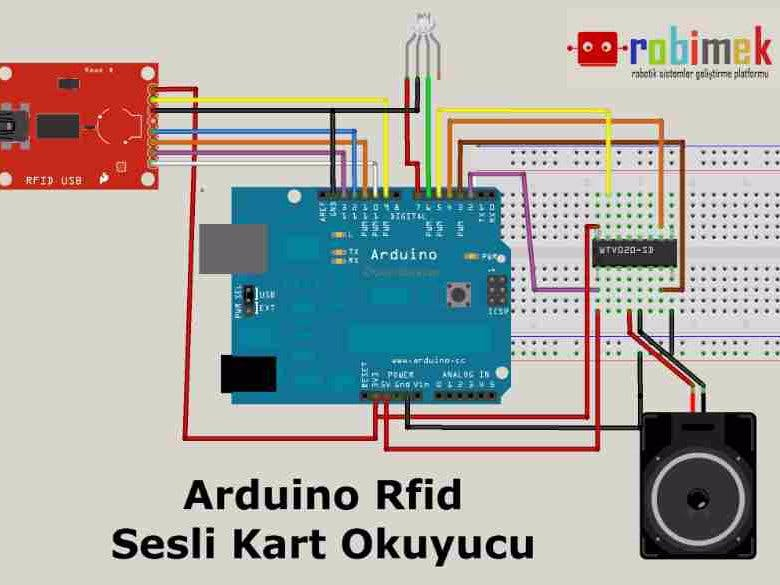 Rfid Arduino - Circuit Diagram Images