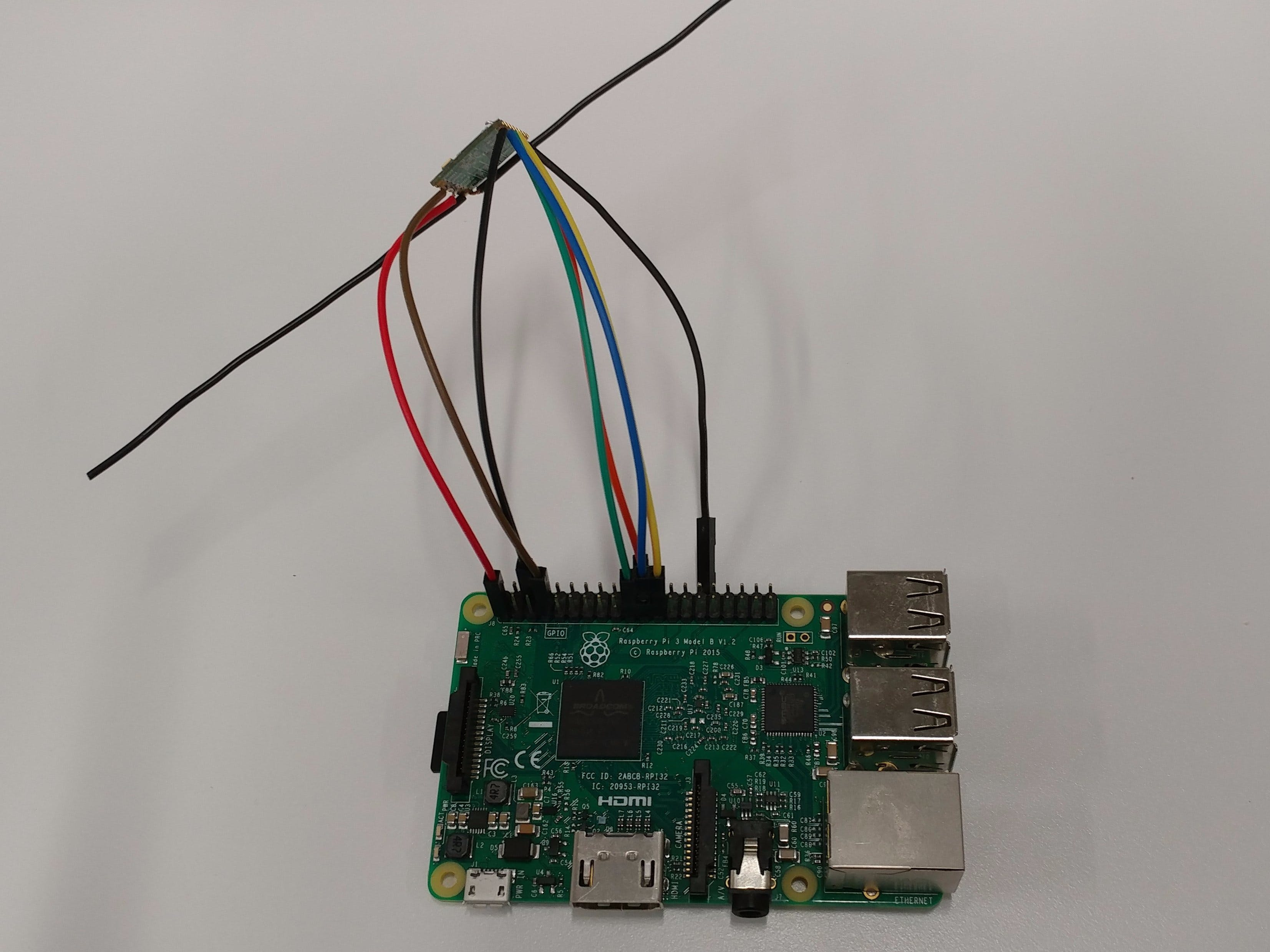 LoRa - Raspberry Pi - Single Channel Gateway - Cheap!