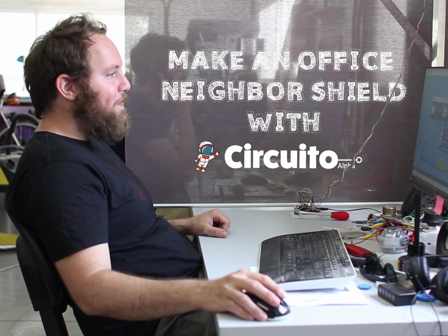 Office Neighbor Shield with Arduino