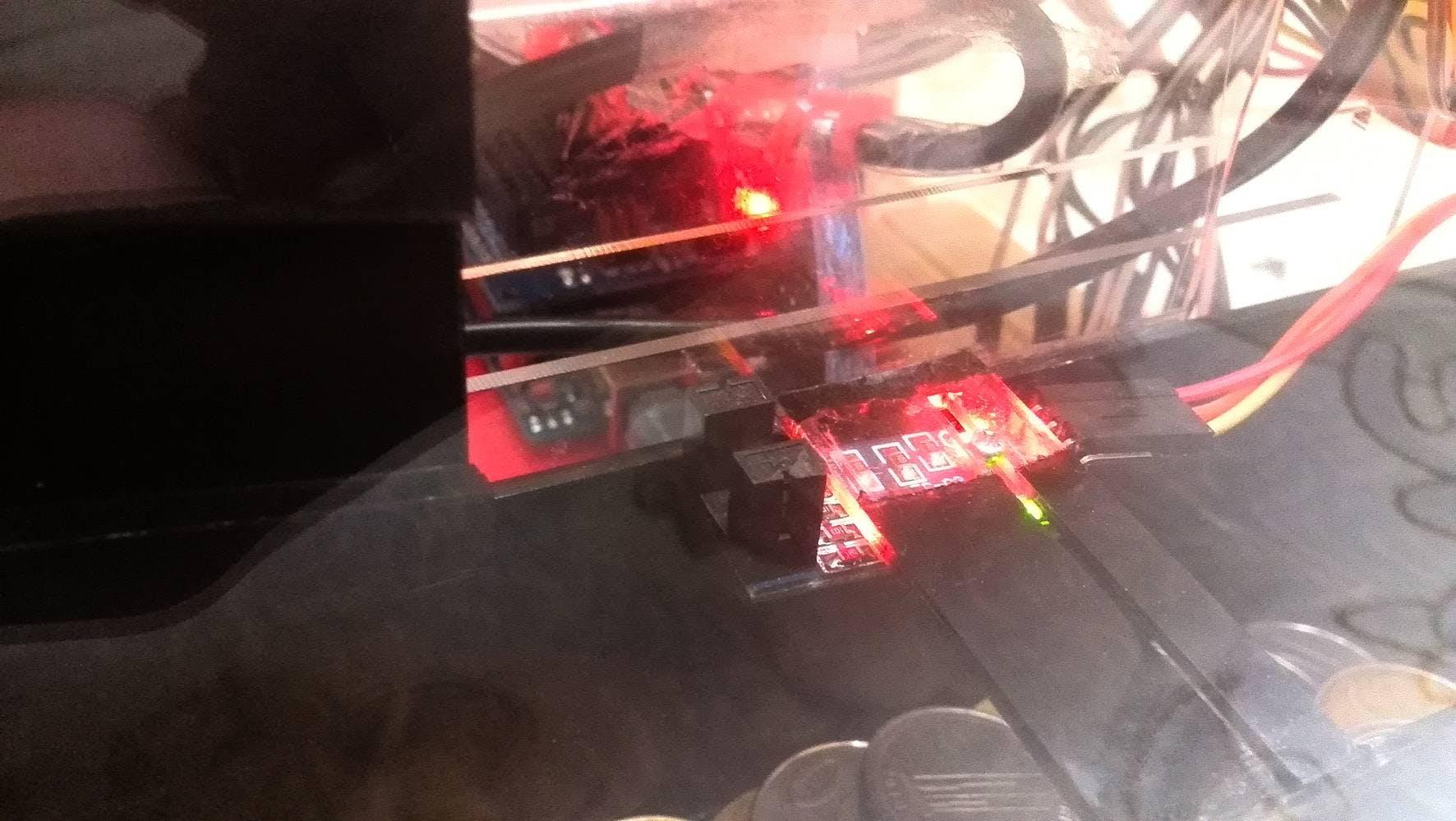Coin sensor number 2, a distance interupter sensor