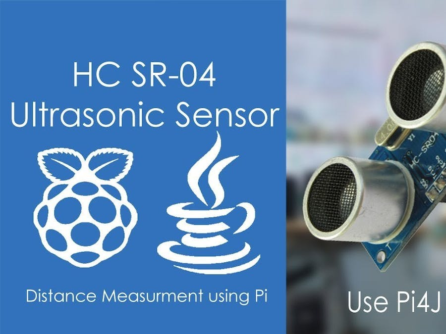 Measure Distance using Ultrasonic Sensor | Pi4J | JAVA | Pi