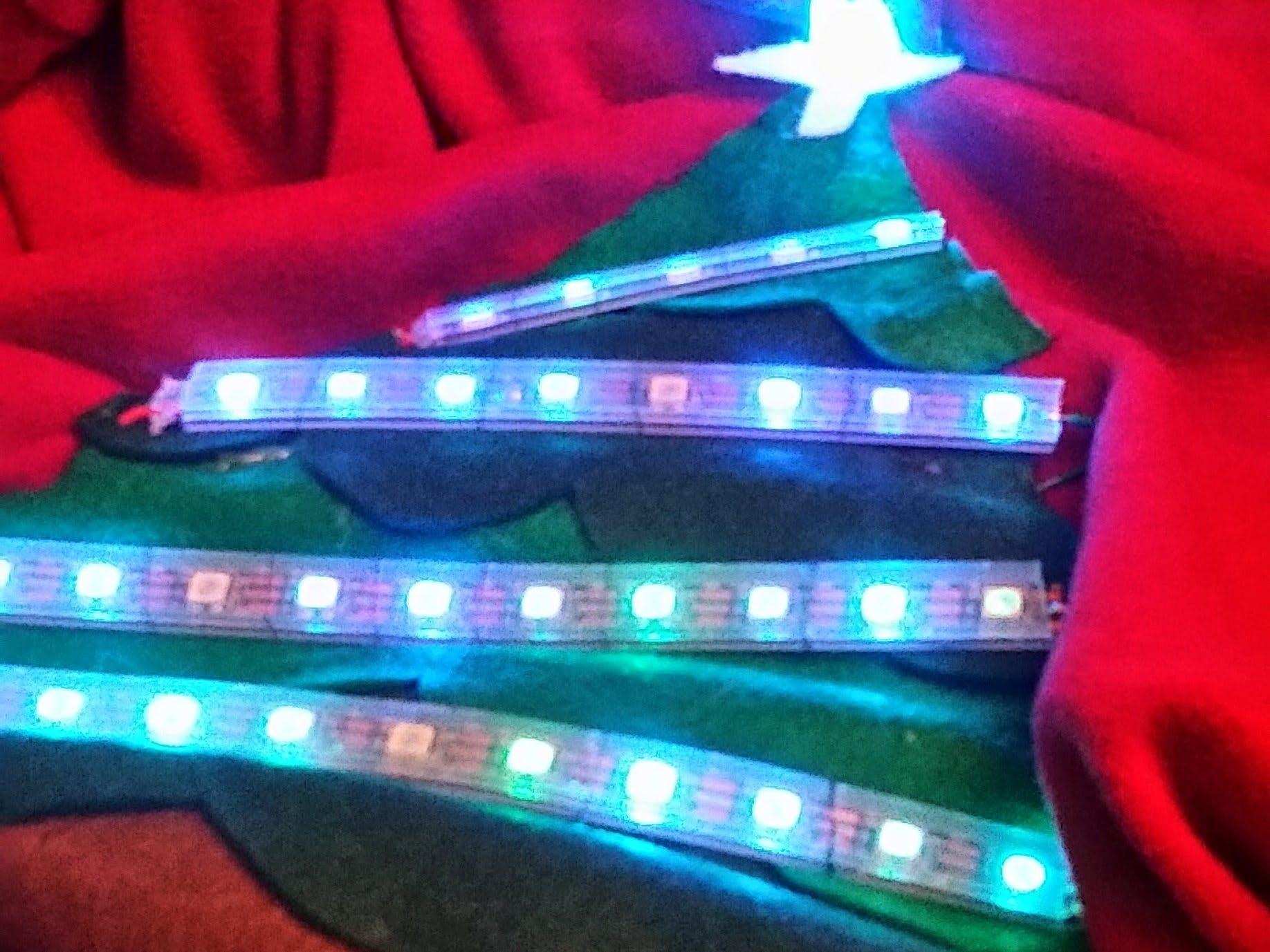 RGB LED Ugly Holiday Sweater