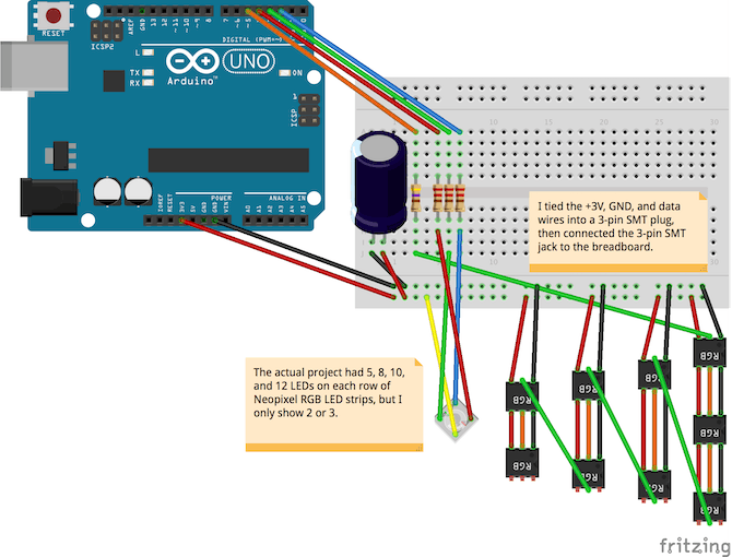 RGB LED Ugly Holiday Sweater - Arduino Project Hub