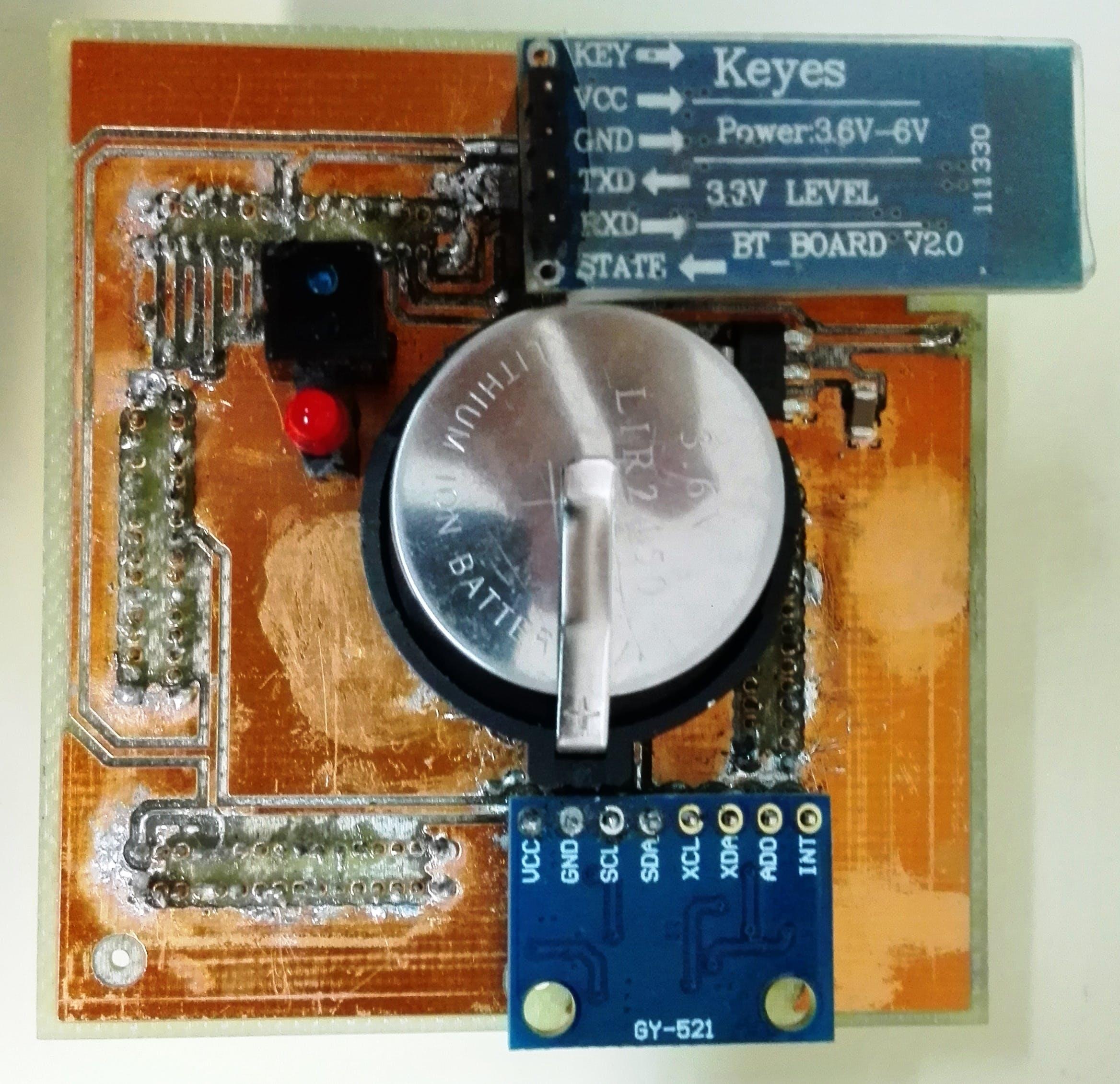Figure 5: Prototype (Top).