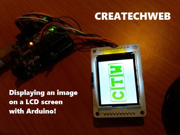 Displaying An Image On A LCD TFT Screen With Arduino UNO!