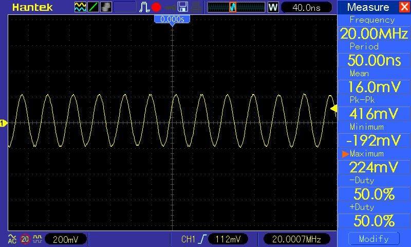 30MHZ DDS Signal Generator on Arduino - Hackster io