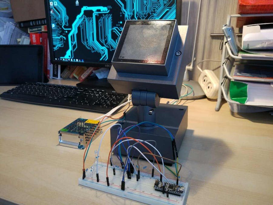 Simple dali controller hackster simple dali controller publicscrutiny Image collections