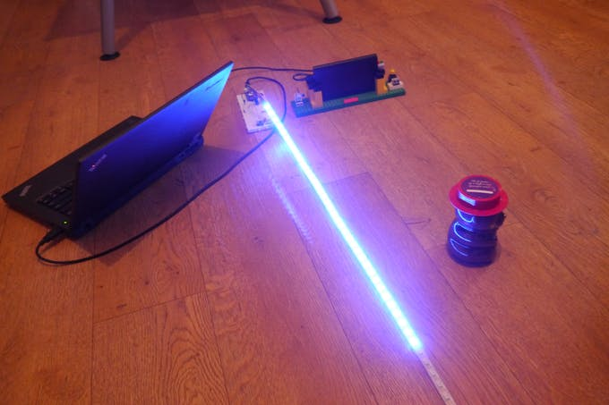 Walabot object detection arduino project hub