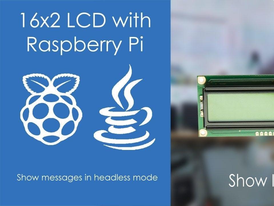 16x2 LCD on Raspberry Pi