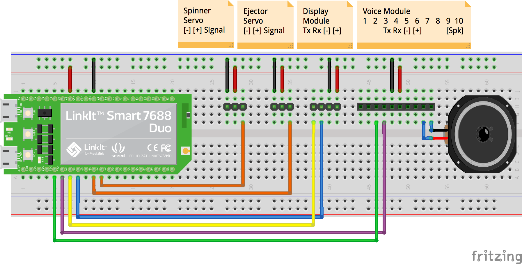 Hardware Breadboard Connection