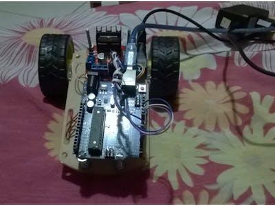 Control DC motors trough USB serial port