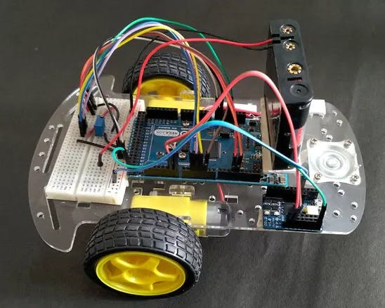 The robot car assembly