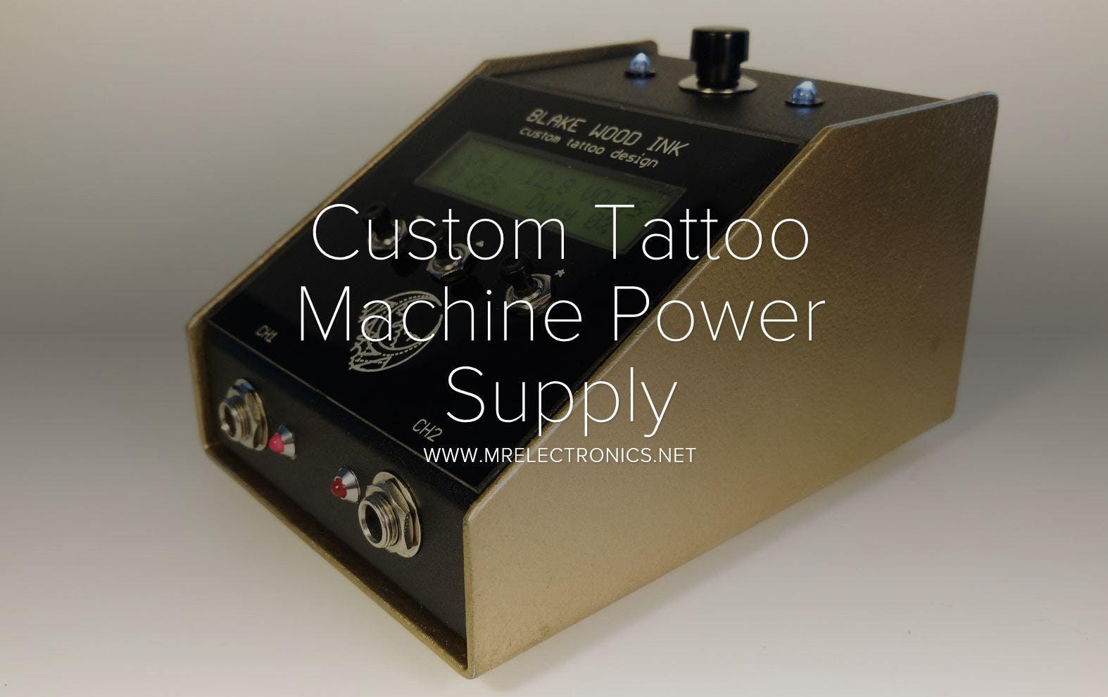 Tattoo machine power supply hunvgxbrub