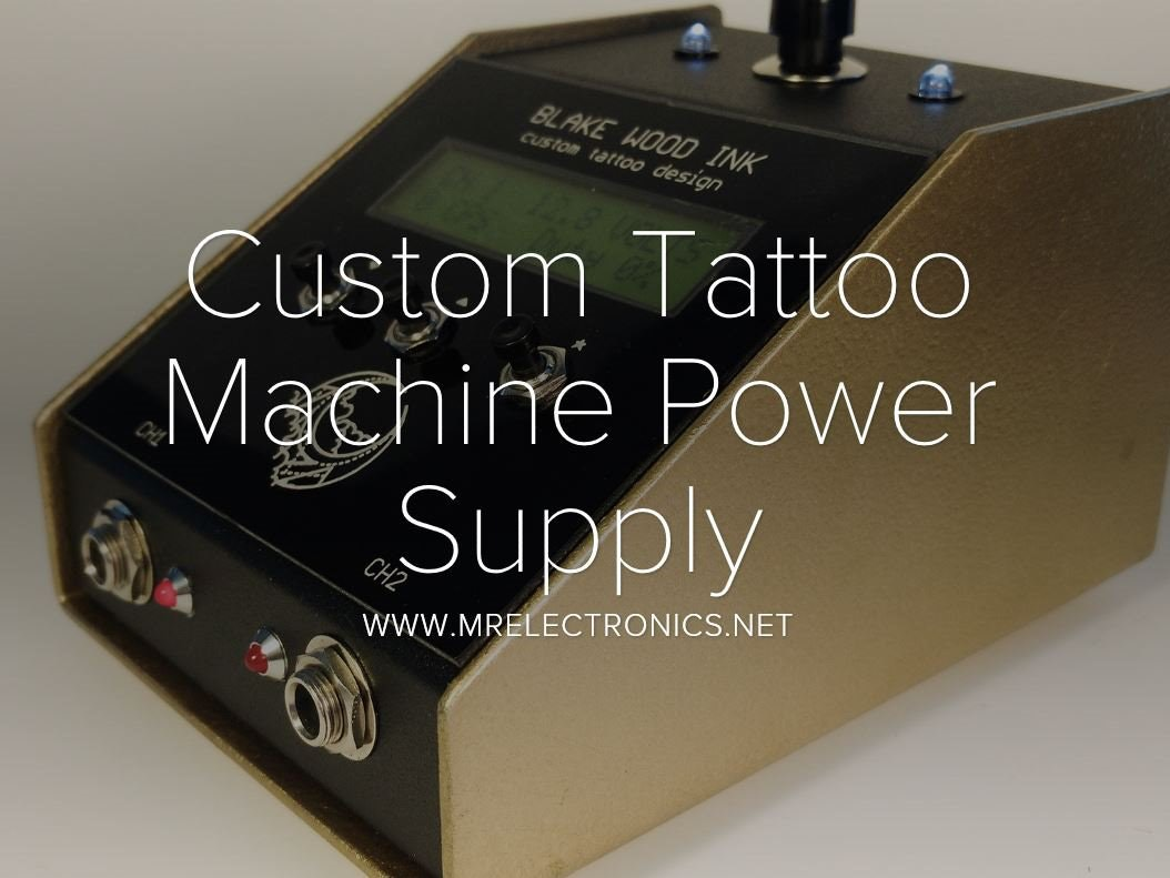 Wireless Tattoo Machines Diagram Electrical Wiring Diagrams Custom Machine Power Supply Hackster Io Coils How They Work
